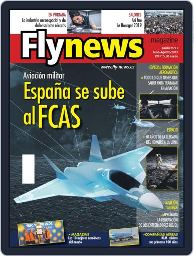 Fly News July 1st, 2019 Digital Back Issue Cover