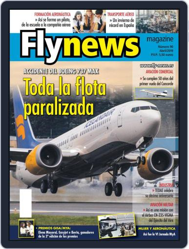 Fly News (Digital) April 1st, 2019 Issue Cover
