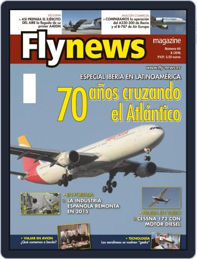 Fly News (Digital) August 1st, 2016 Issue Cover
