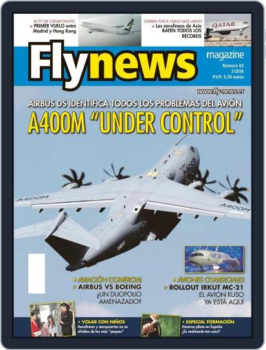 Fly News July 1st, 2016 Digital Back Issue Cover