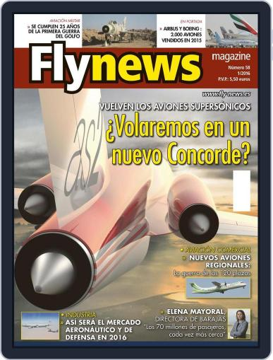 Fly News February 5th, 2016 Digital Back Issue Cover