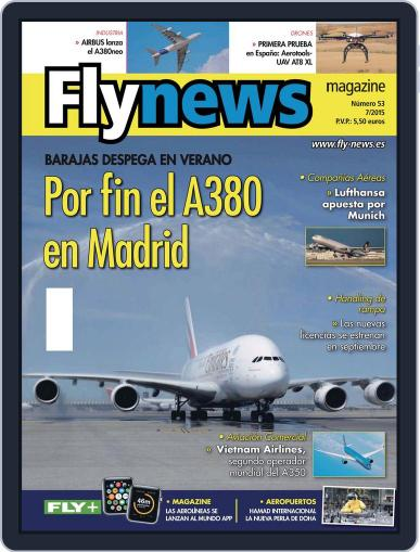 Fly News (Digital) August 25th, 2015 Issue Cover