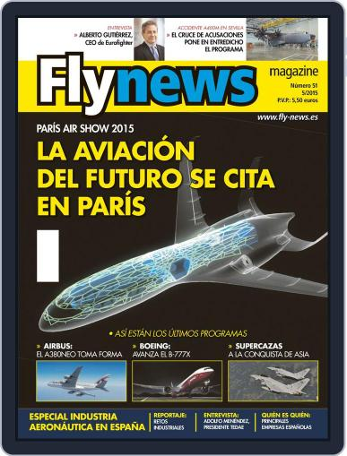 Fly News (Digital) May 1st, 2015 Issue Cover