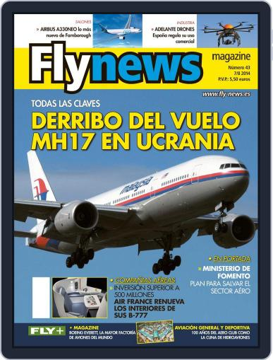 Fly News (Digital) July 30th, 2014 Issue Cover
