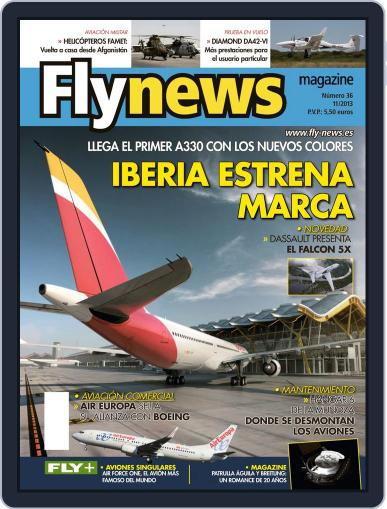 Fly News (Digital) November 19th, 2013 Issue Cover