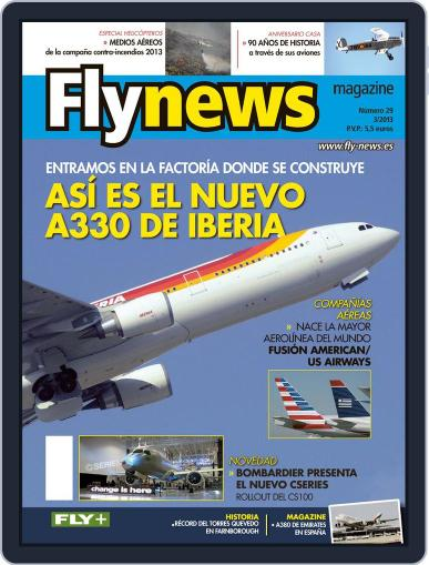 Fly News (Digital) March 26th, 2013 Issue Cover