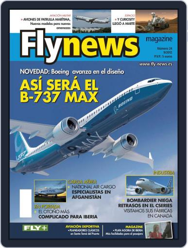 Fly News (Digital) August 30th, 2012 Issue Cover