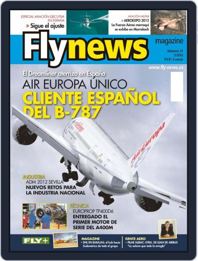 Fly News May 9th, 2012 Digital Back Issue Cover