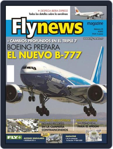 Fly News April 6th, 2012 Digital Back Issue Cover