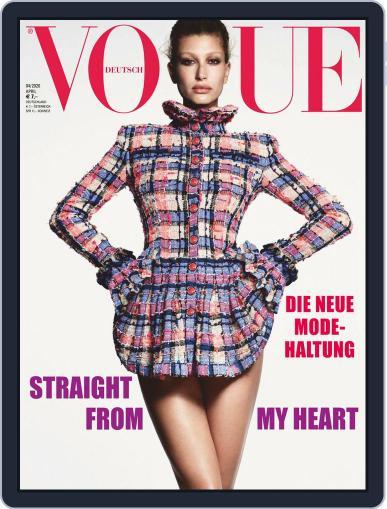 Vogue (D) (Digital) April 1st, 2020 Issue Cover