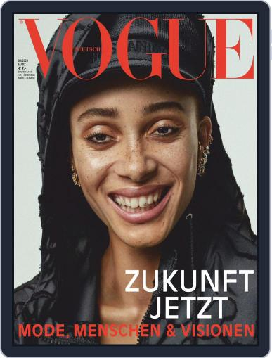 Vogue (D) March 1st, 2020 Digital Back Issue Cover