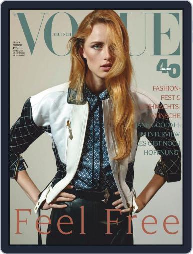 Vogue (D) (Digital) December 1st, 2019 Issue Cover