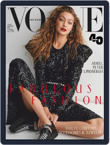 Vogue (D) (Digital) November 1st, 2019 Issue Cover
