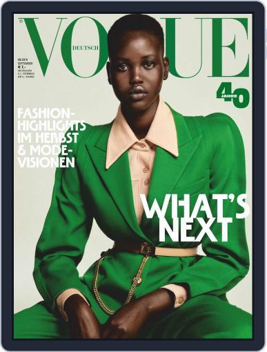 Vogue (D) (Digital) September 1st, 2019 Issue Cover