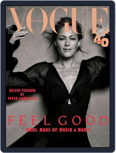 Vogue (D) January 1st, 2019 Digital Back Issue Cover