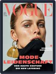 Vogue (D) (Digital) Subscription November 1st, 2018 Issue