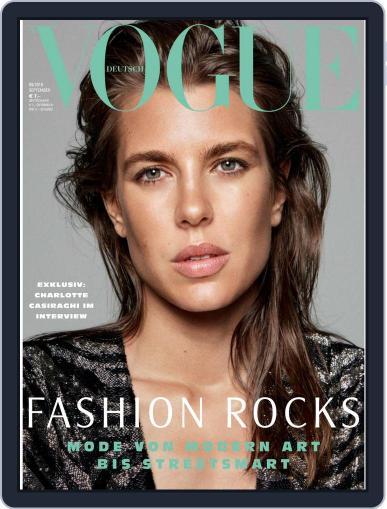 Vogue (D) (Digital) September 1st, 2018 Issue Cover
