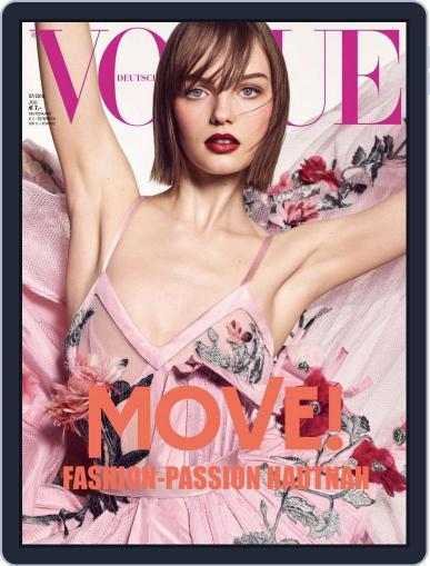 Vogue (D) July 1st, 2018 Digital Back Issue Cover