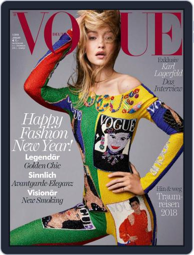 Vogue (D) (Digital) January 1st, 2018 Issue Cover