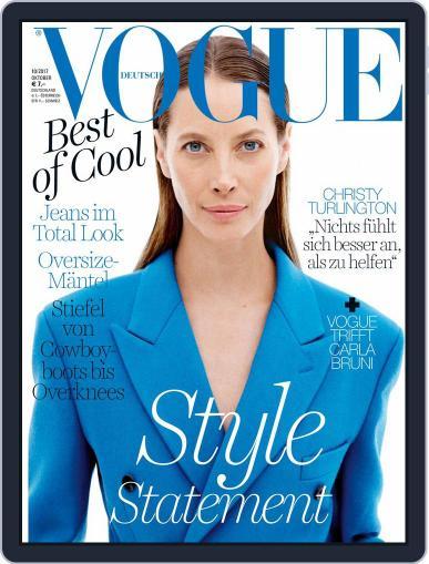 Vogue (D) October 1st, 2017 Digital Back Issue Cover