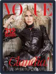 Vogue (D) (Digital) Subscription September 1st, 2017 Issue