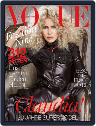 Vogue (D) September 1st, 2017 Digital Back Issue Cover