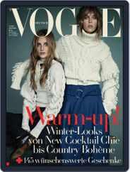Vogue (D) (Digital) Subscription November 9th, 2016 Issue