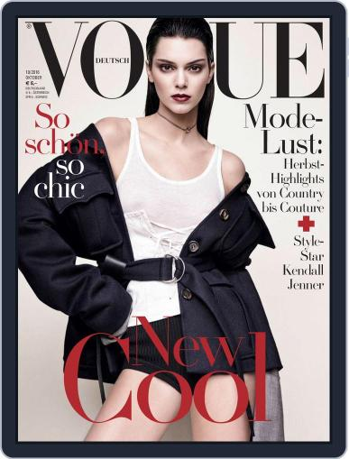 Vogue (D) (Digital) October 1st, 2016 Issue Cover
