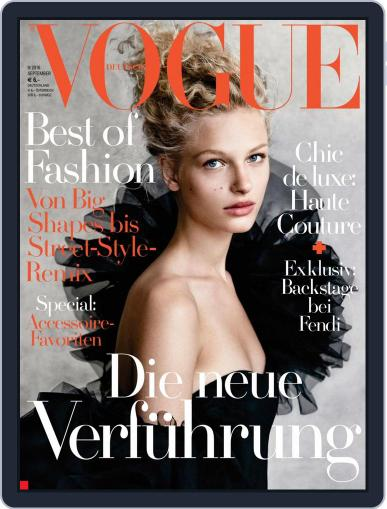 Vogue (D) August 10th, 2016 Digital Back Issue Cover