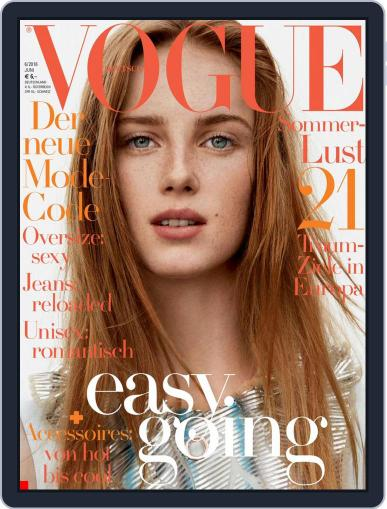 Vogue (D) (Digital) May 11th, 2016 Issue Cover