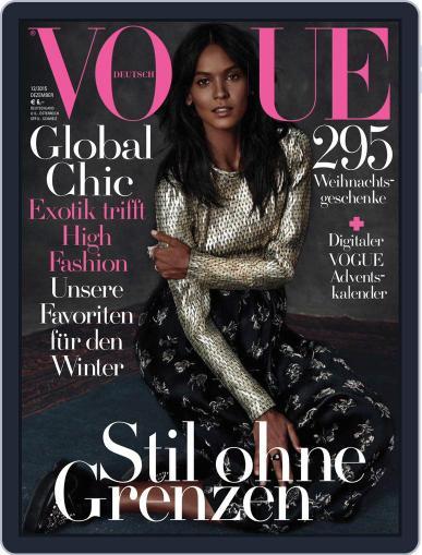 Vogue (D) December 1st, 2015 Digital Back Issue Cover