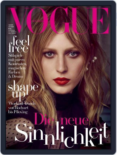 Vogue (D) October 1st, 2015 Digital Back Issue Cover