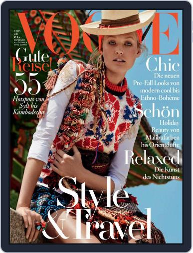Vogue (D) (Digital) July 1st, 2015 Issue Cover