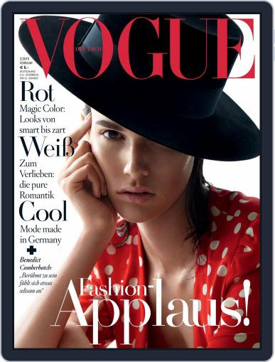 Vogue (D) (Digital) February 1st, 2015 Issue Cover