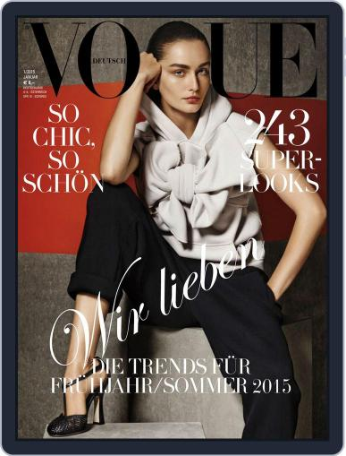 Vogue (D) (Digital) January 1st, 2015 Issue Cover