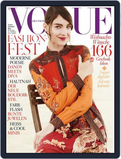 Vogue (D) (Digital) December 1st, 2014 Issue Cover