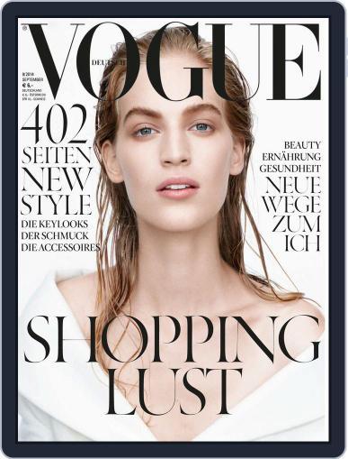 Vogue (D) (Digital) September 1st, 2014 Issue Cover
