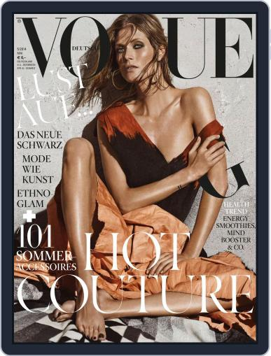 Vogue (D) May 1st, 2014 Digital Back Issue Cover