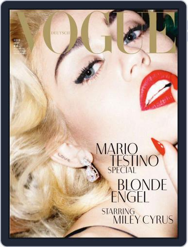 Vogue (D) (Digital) March 1st, 2014 Issue Cover