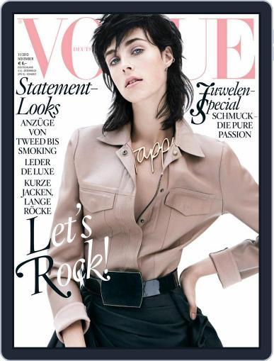 Vogue (D) (Digital) November 1st, 2013 Issue Cover