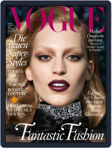 Vogue (D) (Digital) October 1st, 2013 Issue Cover