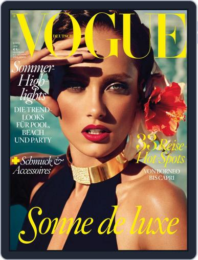 Vogue (D) (Digital) June 1st, 2013 Issue Cover