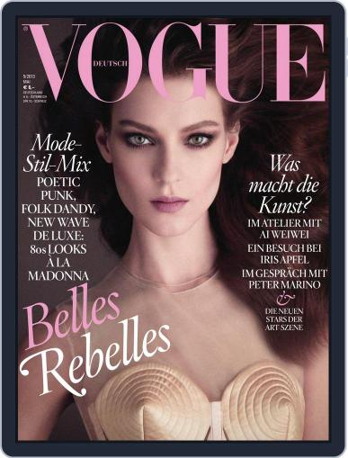 Vogue (D) (Digital) May 1st, 2013 Issue Cover