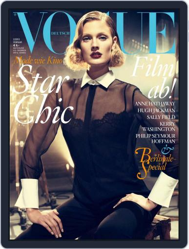 Vogue (D) (Digital) February 1st, 2013 Issue Cover