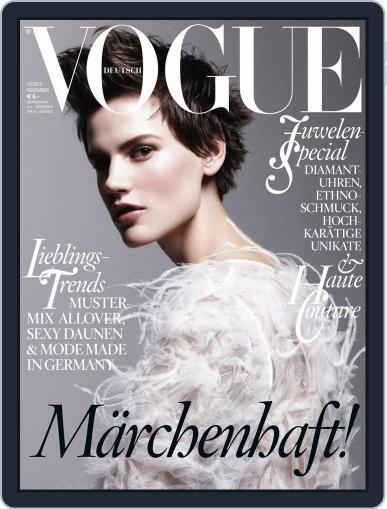 Vogue (D) (Digital) November 1st, 2012 Issue Cover