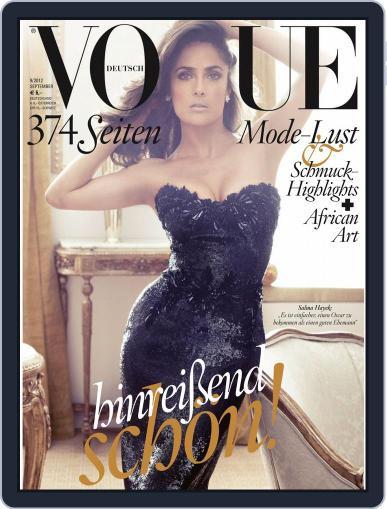 Vogue (D) (Digital) September 2nd, 2012 Issue Cover
