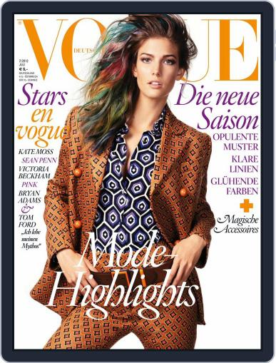 Vogue (D) (Digital) July 1st, 2012 Issue Cover