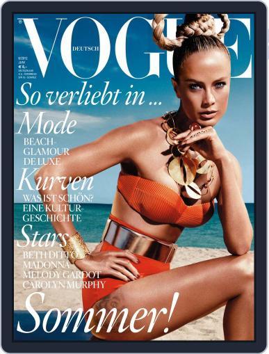 Vogue (D) June 1st, 2012 Digital Back Issue Cover