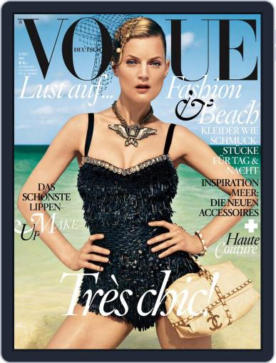 Vogue (D) (Digital) April 2nd, 2012 Issue Cover