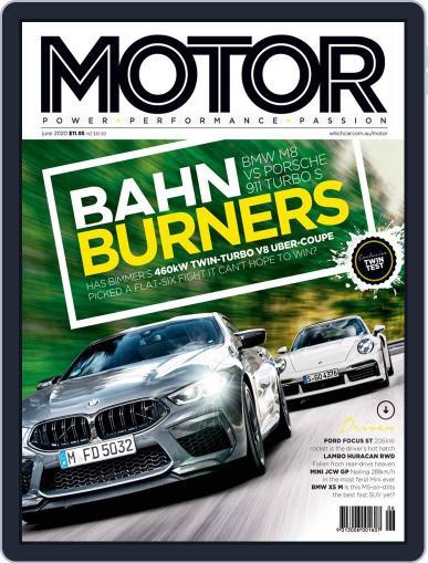 Motor Magazine Australia (Digital) June 1st, 2020 Issue Cover